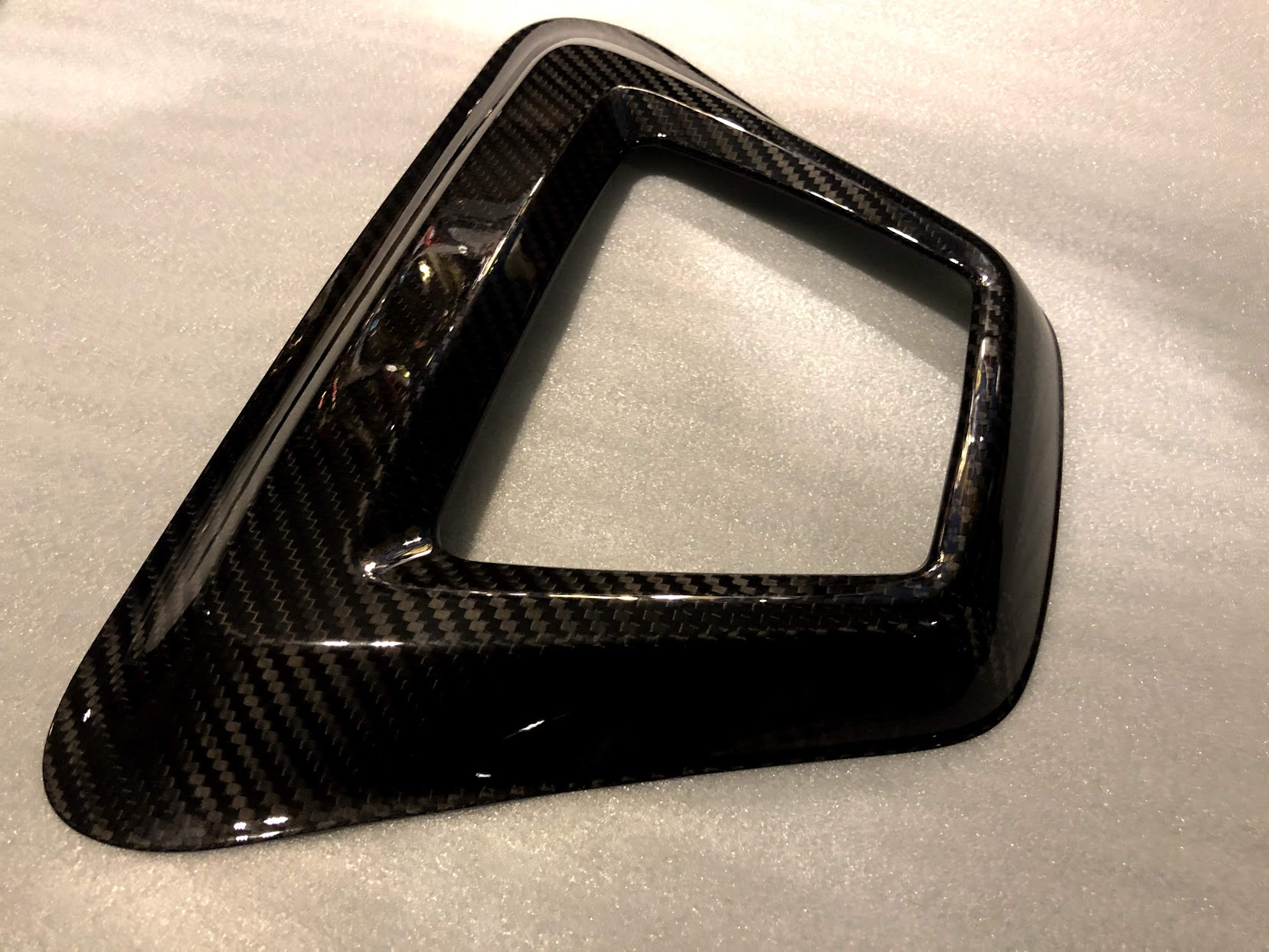 New Supra A90 MK5 Carbon rear LED bumper cover