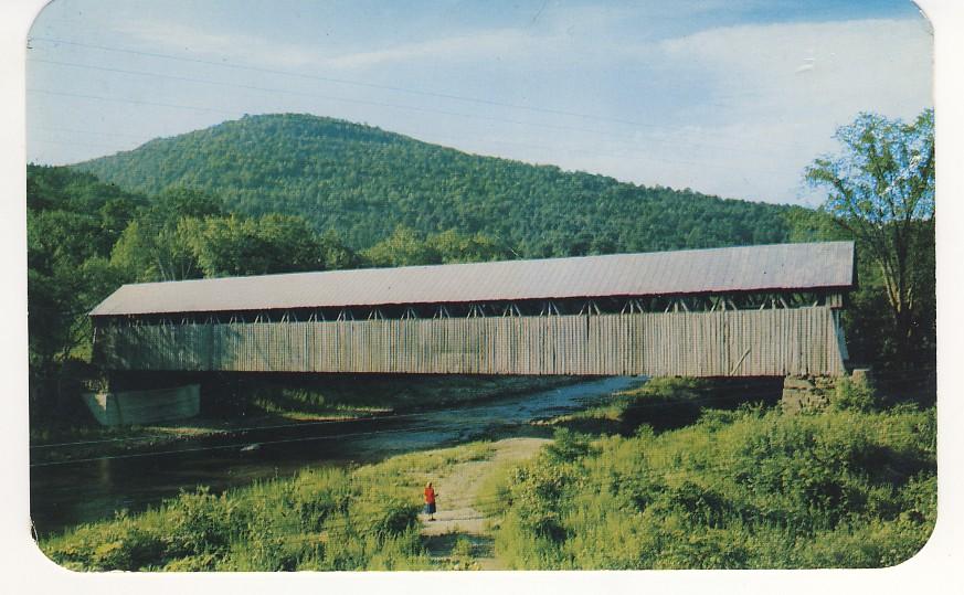 Blenheim Covered Bridge Postcard