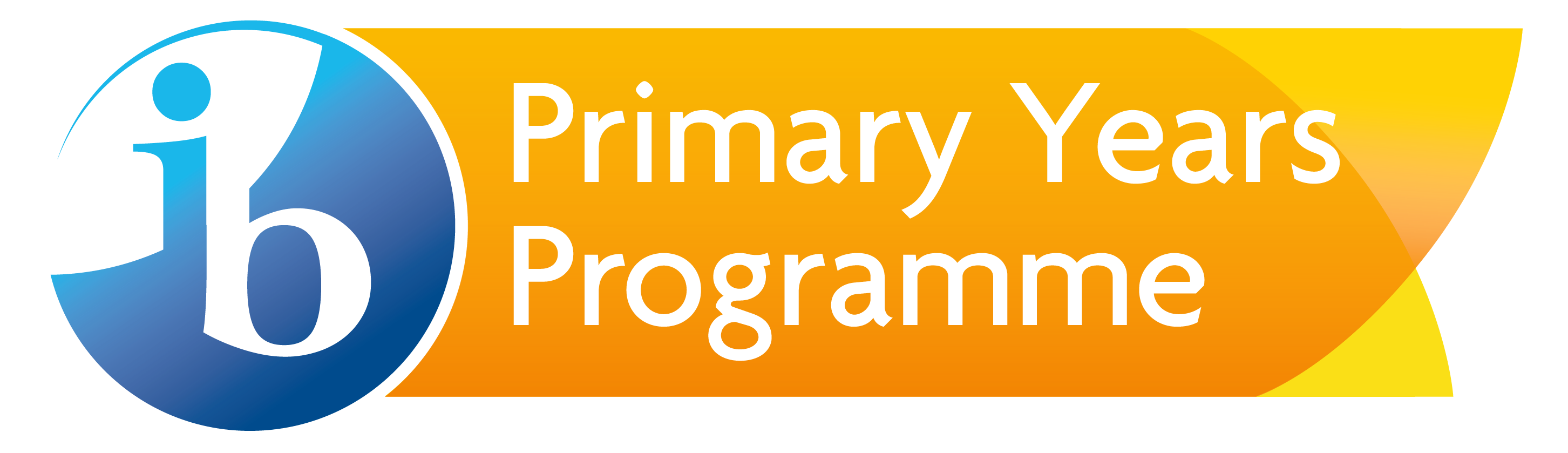 yellow square with Primary Years Programme written on the top