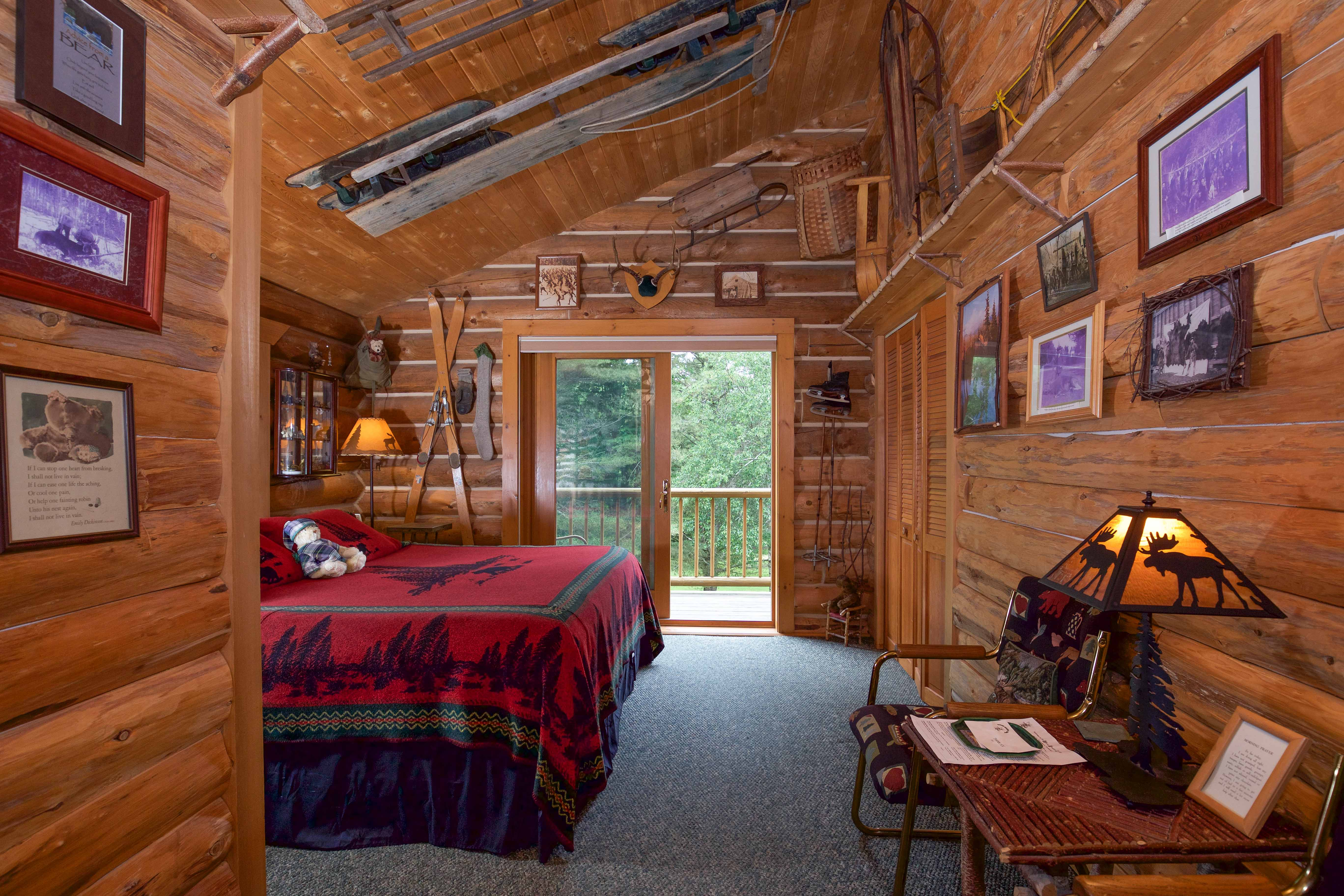 Sled Room at Moose Meadow Lodge