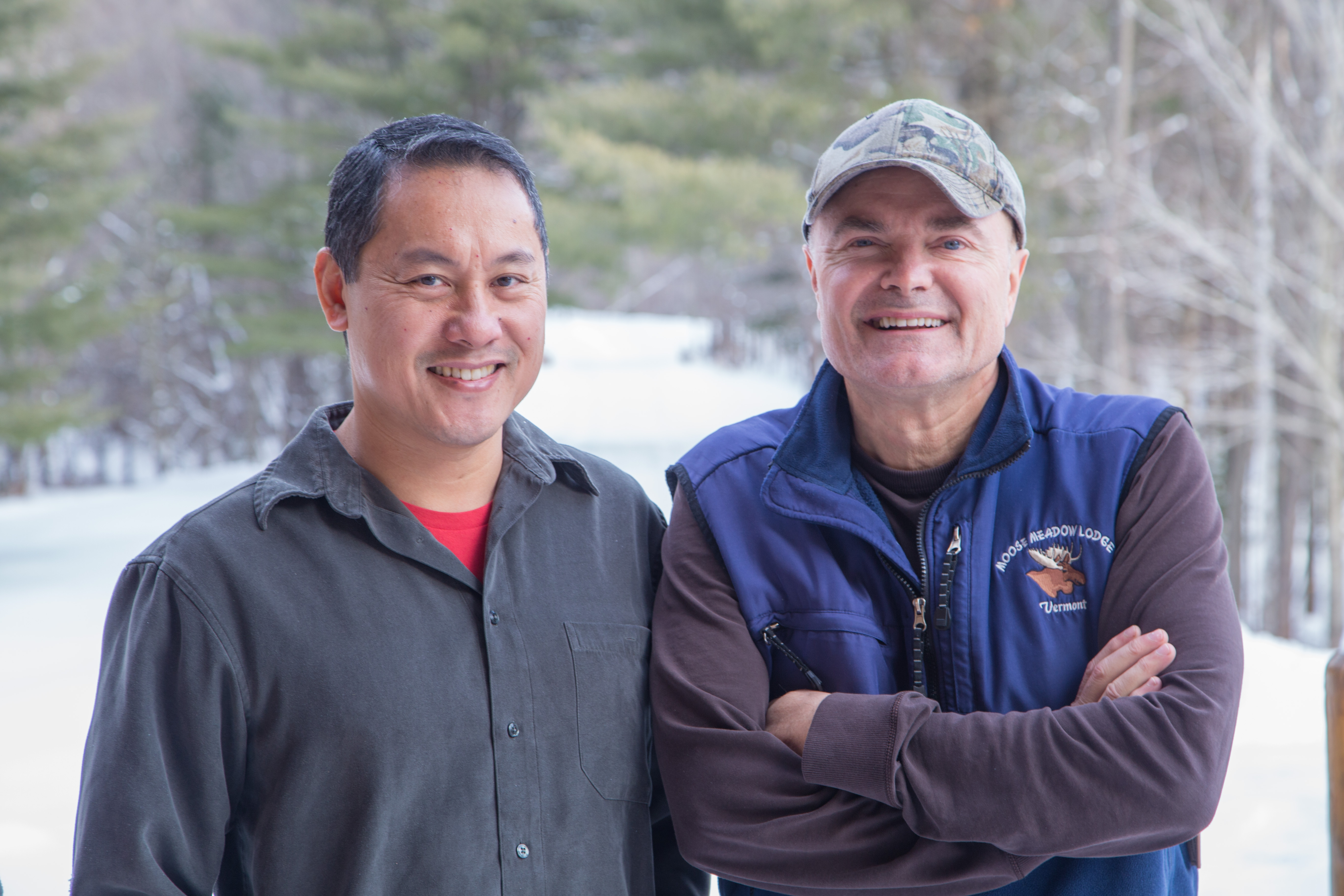 Moose Meadow Lodge Innkeepers - Willie Docto and Greg Trulson