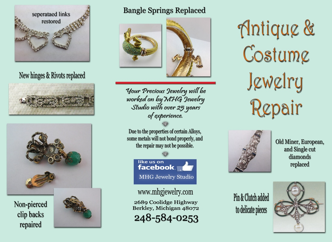MHG Jewelry Studio Costume Jewelry Repair  sc 1 st  MHG Jewelry Studio & Costume Jewelry Repair