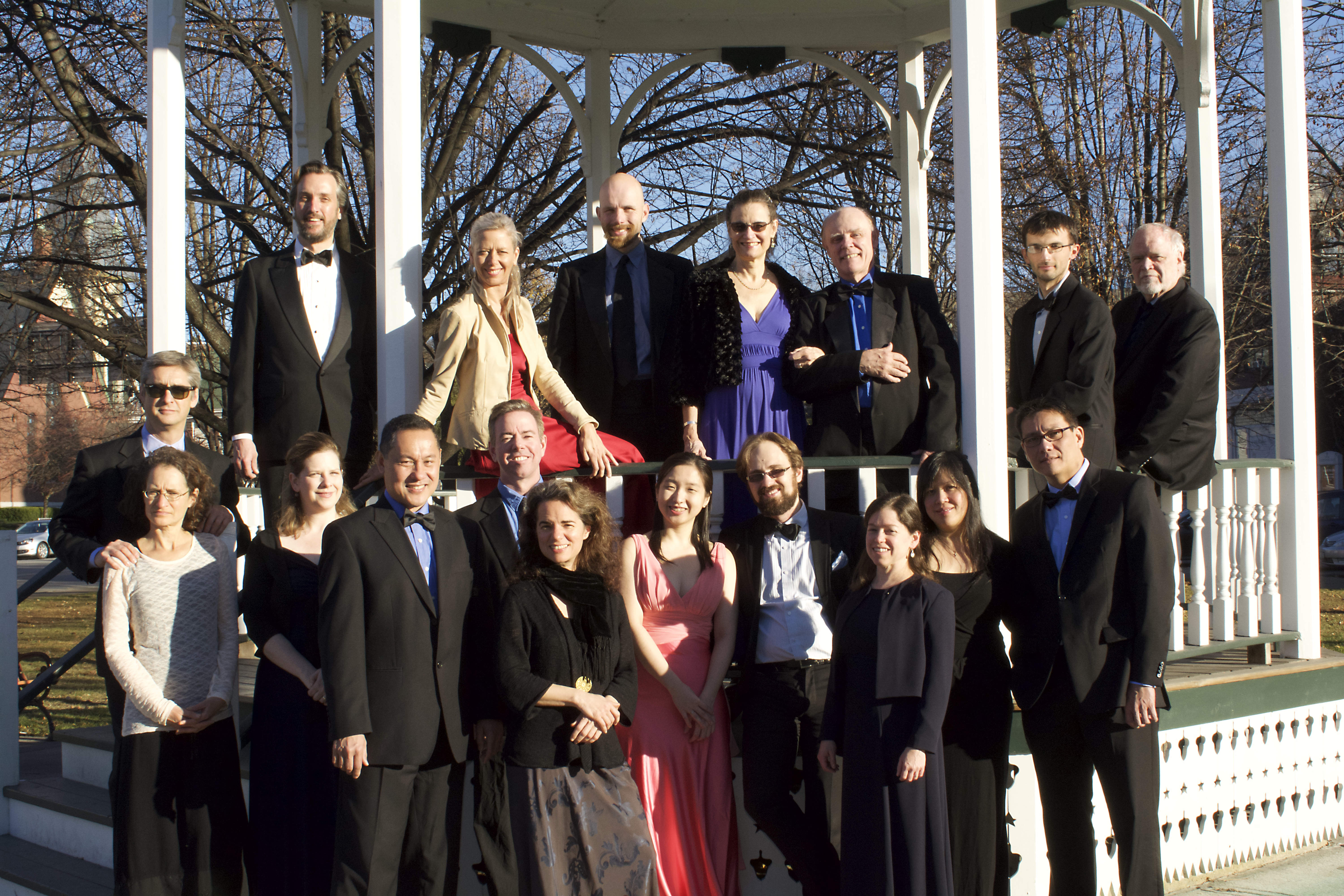 Members of the Eleva Chamber Players