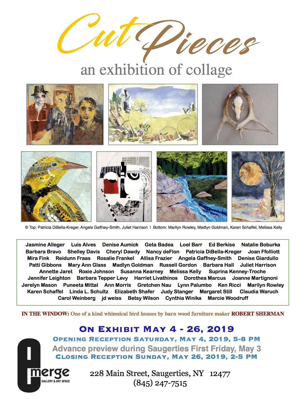 Emerge Gallery_Cut Pieces flier_May 2019jpg