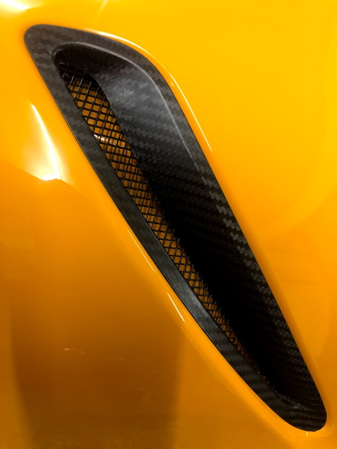 2020 up Supra A90 GR Carbon fiber hood vents(PRE ORDER)