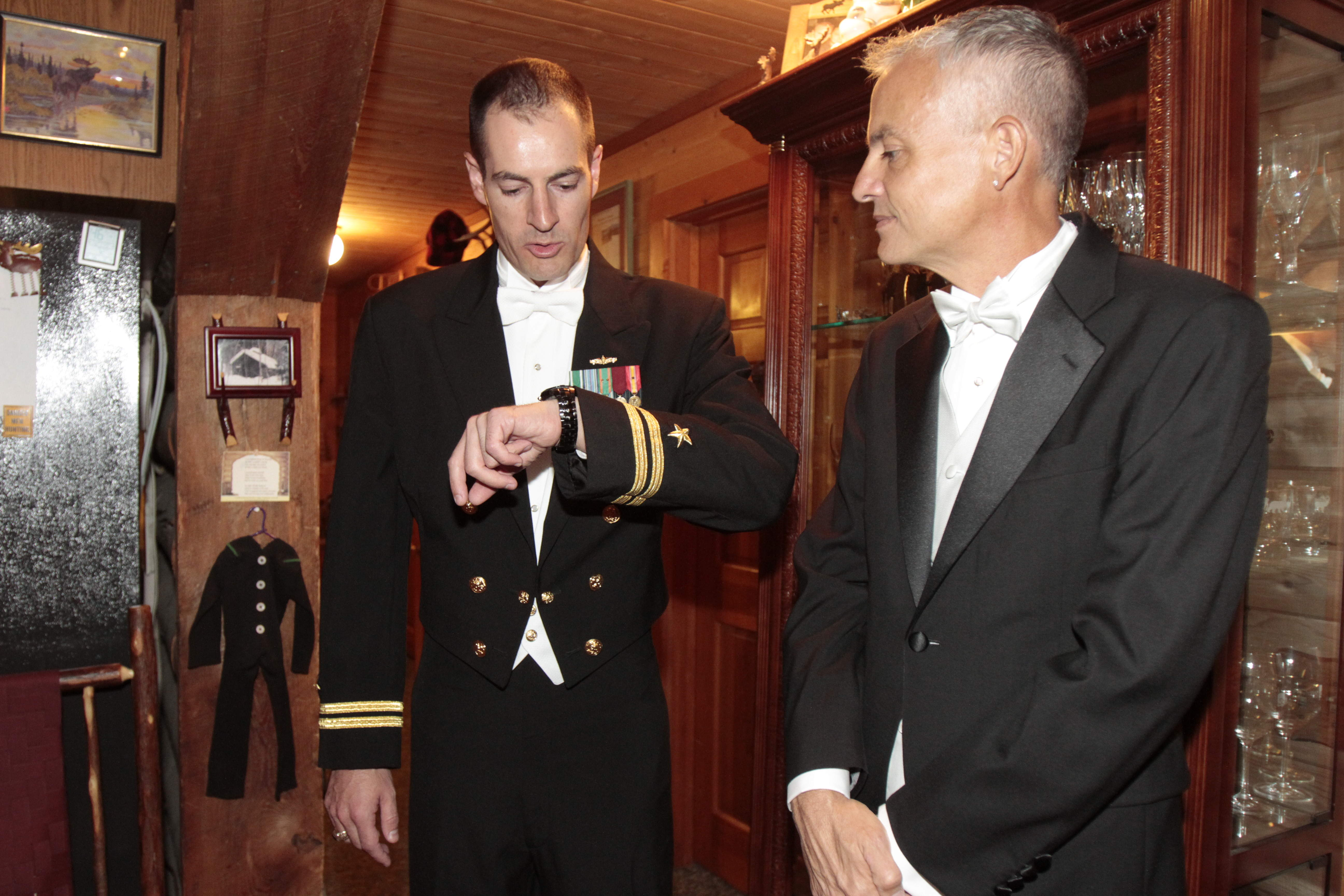 Greg Trulson, Justice of the Peace, Officiant, First gay military wedding, Moose Meadow Lodge
