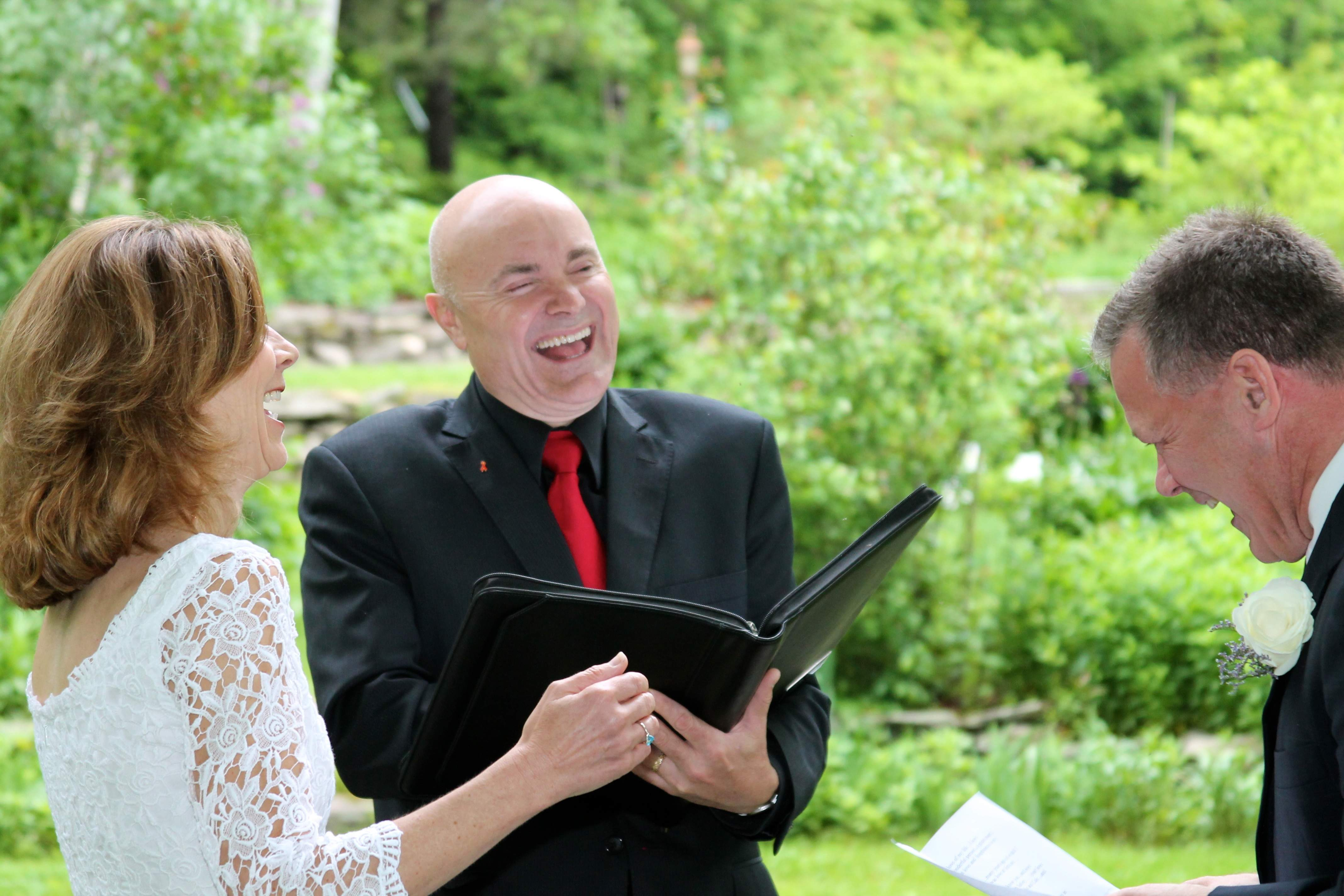 Greg Trulson, Justice of the Peace, Vermont Wedding Officiant, Elopements, West Hill House B&B