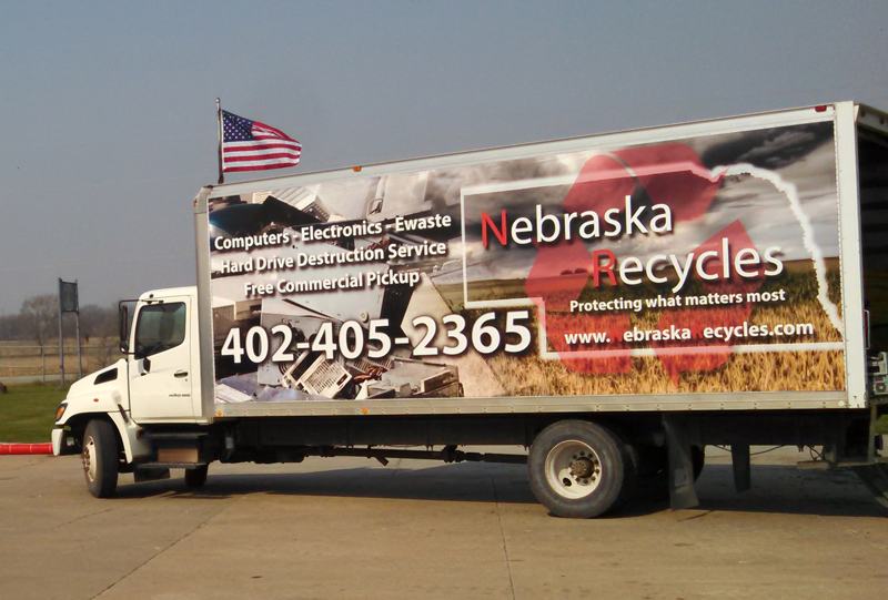 Nebraska Recycles Truck