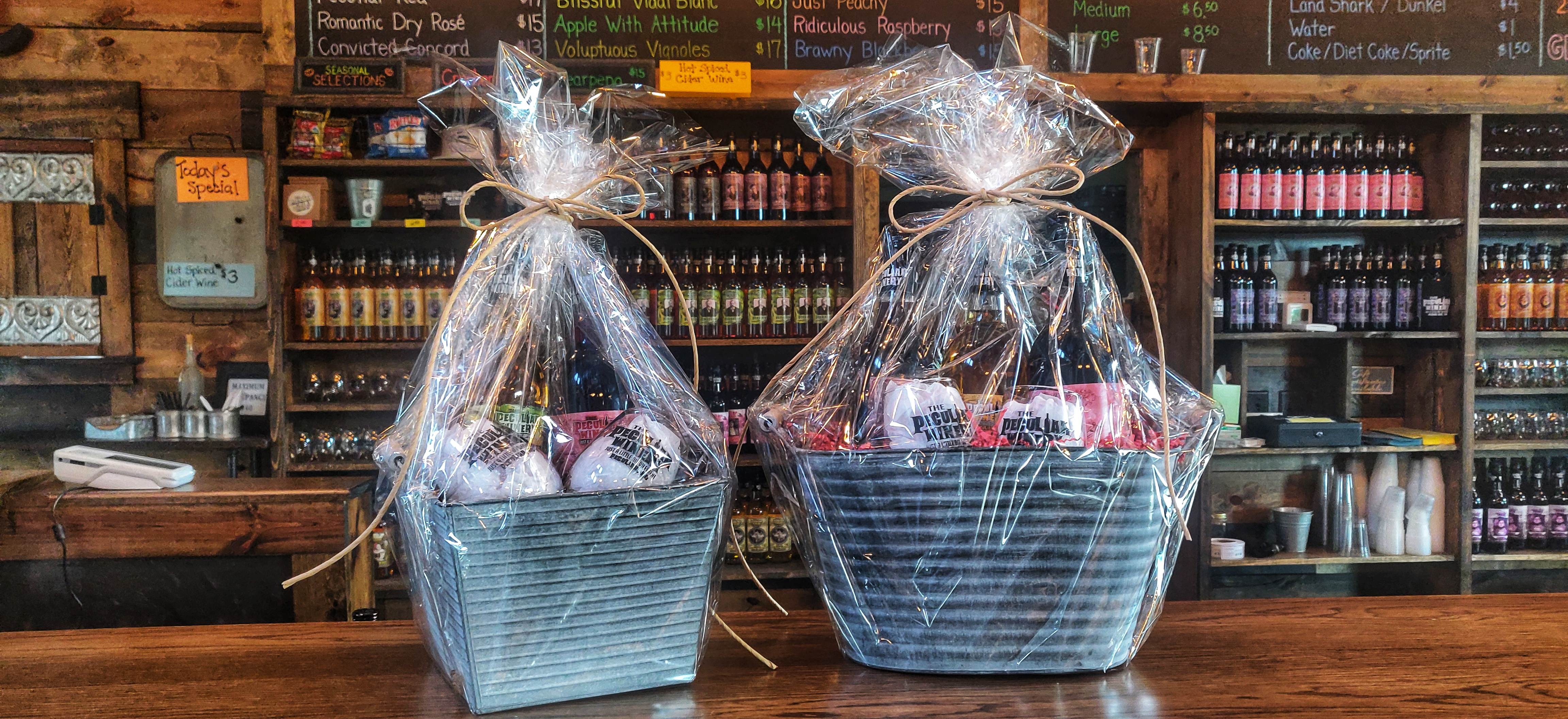 The Peculiar Winery Gift Basket