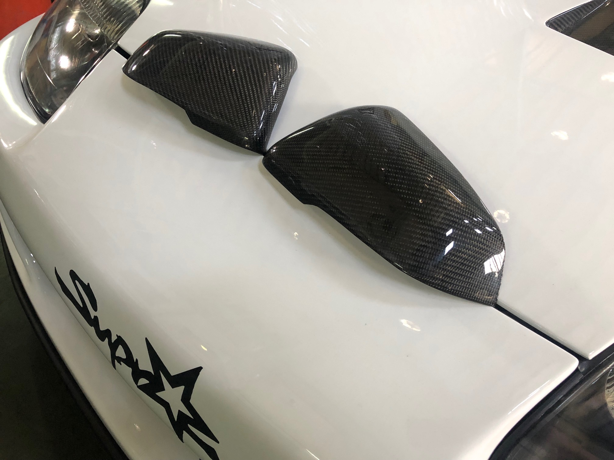 2020 Toyota Supra Carbon Fiber Mirror covers A90 MK5