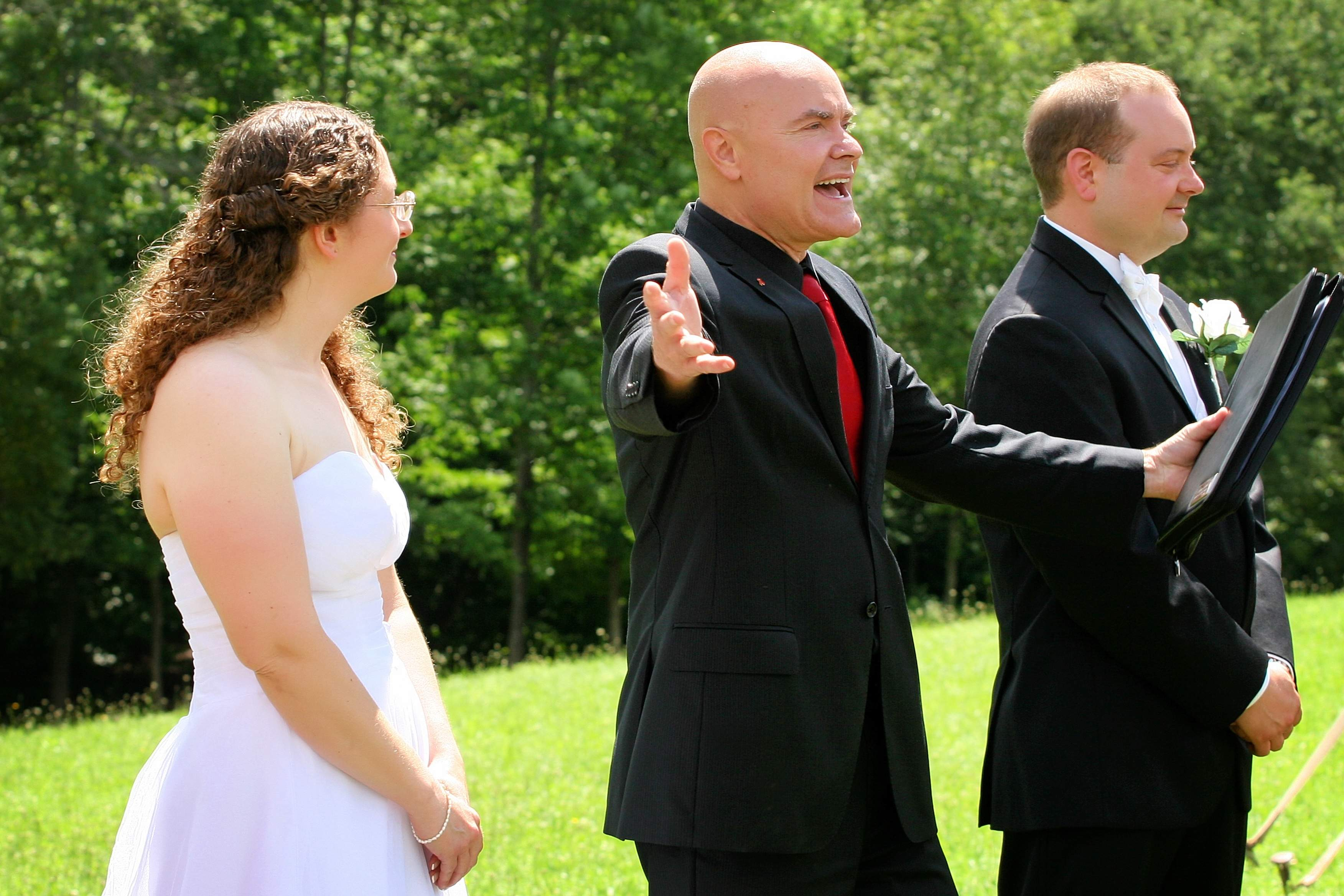 Greg Trulson, Justice of the Peace, Vermont Wedding Officiant, Elopements
