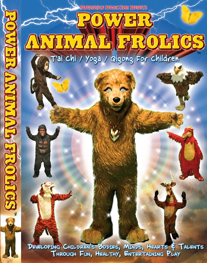 Power Animal Frolics--Yoga, Qigong & T'ai Chi DVD